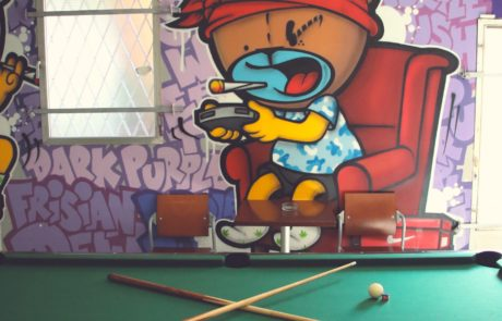 weed vice pool table